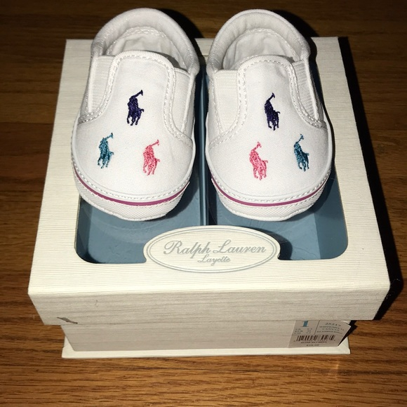 df5dd8cad NEW Ralph Lauren baby girl shoes size 1